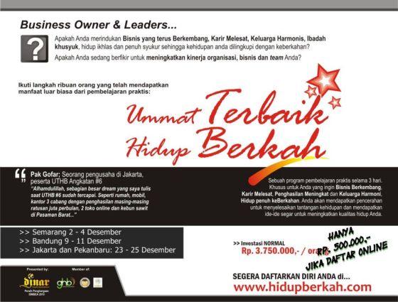 seminar bisnis islami